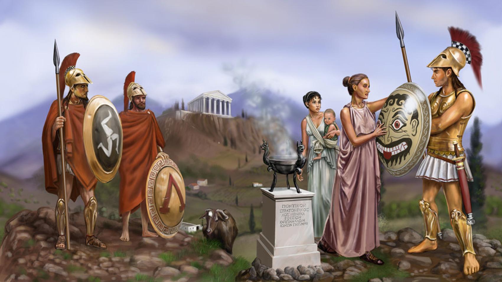 Η Αρχαία Σπαρτιάτισσα – Resist to Exist